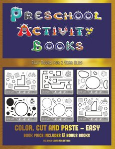 Best Books for 2 Year Olds (Preschool Activity Books - Easy)