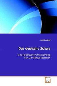 Das deutsche Schwa