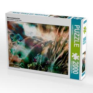 Meeresimpression 2000 Teile Puzzle quer