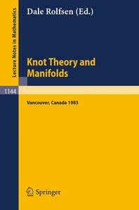 Knot Theory and Manifolds