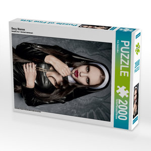 Sexy Nonne 2000 Teile Puzzle hoch