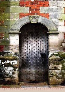 Englands bezaubernde Türen / Englands gorgeous Doors (Wandkalend