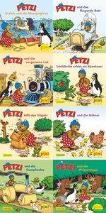 Pixi-Bundle 8er Serie 156. Viel Spaß mit Petzi