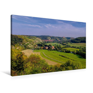 Premium Textil-Leinwand 90 cm x 60 cm quer Freyburg