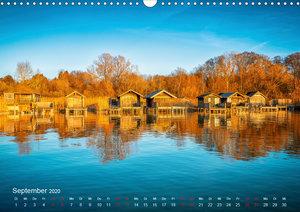 Impressionen vom Starnberger See (Wandkalender 2020 DIN A3 quer)