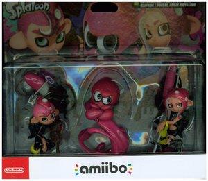 amiibo Oktoling-Mädchen, Oktoling-Junge und Oktoling-Oktopus 3in