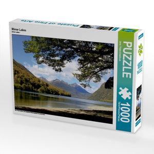 Mirror Lakes 1000 Teile Puzzle quer