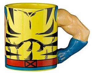 MARVEL Wolverine Tasse Torso mit 3D Arm, Mug, 350 ml