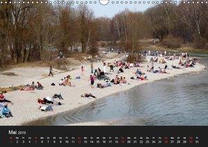 Die Isar - Von Scharnitz bis München (Wandkalender 2019 DIN A3 q