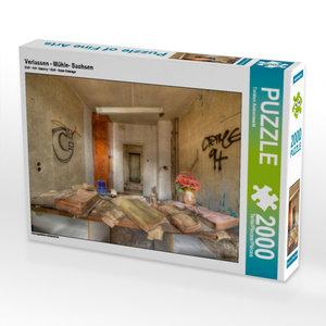 Verlassen - Mühle- Sachsen 2000 Teile Puzzle quer