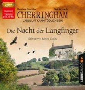 Cherringham - Die Nacht der Langfinger, 1 Audio-CD, MP3 Format
