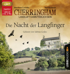 Cherringham - Die Nacht der Langfinger, 1 Audio-CD, MP3 Format