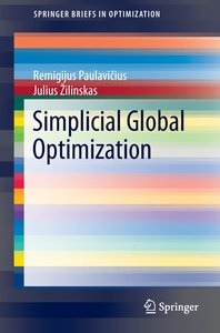 Simplicial Global Optimization