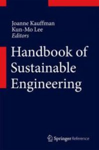 Handbook of Sustainable Engineering