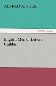 English Men of Letters: Crabbe
