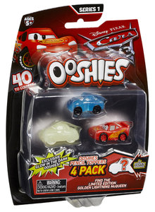 CA Ooshies - Cars 3 - 4er Pack