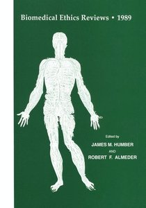 Biomedical Ethics Reviews · 1989