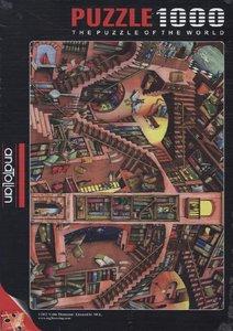 Die verrückte Bibliothek (Puzzle)
