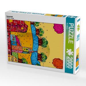 Immekath 2000 Teile Puzzle hoch