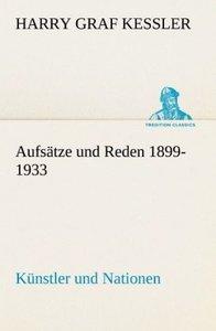 Aufsätze und Reden 1899-1933