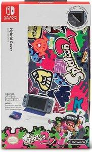 PowerA Hybrid Cover, Splatoon, Schutzhülle für Nintendo Switch