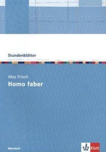 """Stundenblätter Max Frisch """"Homo Faber"""""""