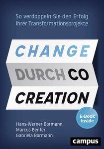 Change durch Co-Creation, mit 1 E-Book