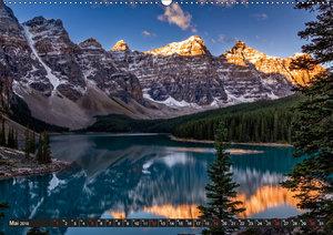 West-Kanada (Wandkalender 2019 DIN A2 quer)