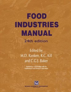 Food Industries Manual