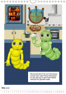 Die Abenteuer der kleinen Raupen