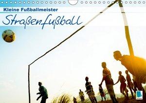 Straßenfußball: kleine Fußballmeister