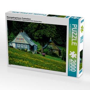 Riesengebirgshäuser (Tschechien) 2000 Teile Puzzle quer