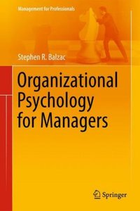 Organizational Psychology for Managers