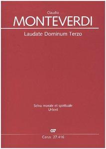 Laudate Dominum, Partitur. Bd.3