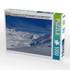 Ein Motiv aus dem Kalender Der Grosse Aletschgletscher ist der f