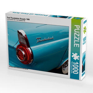 Ford Thunderbird, Baujahr 1956 1000 Teile Puzzle quer