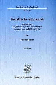Juristische Semantik