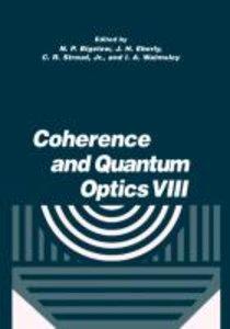 Coherence and Quantum Optics VIII