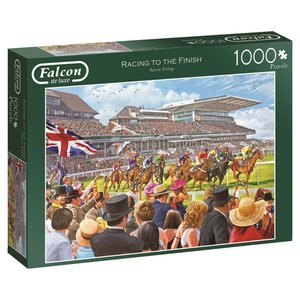 Falcon 11202 - De Luxe, Racing to the Finish, Puzzle, 1000 Teile