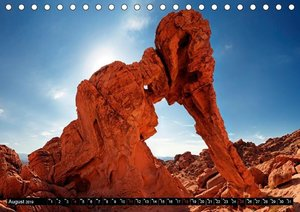 USA Monuments - Landschaften die beeindrucken (Tischkalender 201