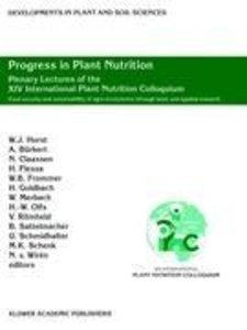 Progress in Plant Nutrition: Plenary Lectures of the XIV Interna