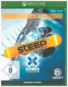 Steep X Games, 1 Xbox One-Blu-ray Disc (Gold Edition)