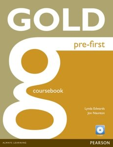 Gold Pre-First Coursebook (with CD-ROM incl. Class Audio)
