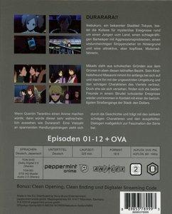 Durarara!! (Vol.1) EP 01-12