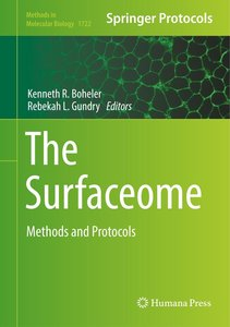 The Surfaceome