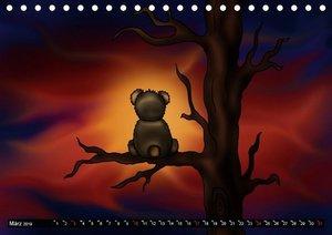 knuffige Teddys (Tischkalender 2019 DIN A5 quer)