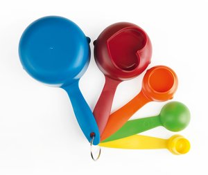 Kinderleichte Becherküche Becher-Set 6-tlg. Mehrfarbig