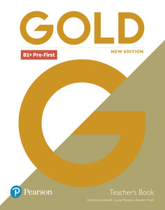 Gold Pre-First New Edition Teacher\'s Book and DVD-ROM pack