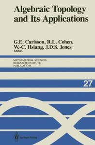Algebraic Topology and Its Applications