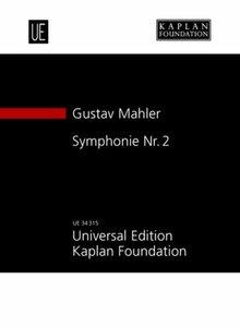 Symphonie Nr. 2 c-Moll für Soli: Sopran, Alt, Chor SATB und Orch